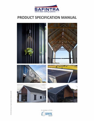 Product spec manual front page -Safintra